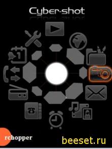 Тема для телефона Новейшее меню для Sony Ericsson