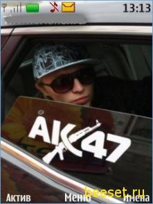 Тема для телефона Ак-47
