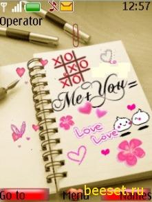 Тема для телефона Любовь(анимация)