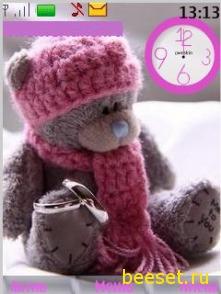 Тедди+часы+новое гламурное меню