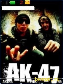 Тема для телефона Ak-47+Новое меню Ак-47