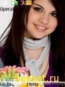 Тема для телефона Selena Gomez