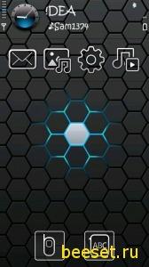 Тема для телефона Xenon+новое меню
