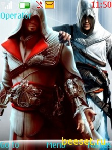 Тема для телефона Assassin's creed 3 Brotherhood