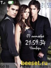 Тема для телефона Vampire Diaries-2 season