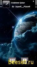 Тема для телефона Земля