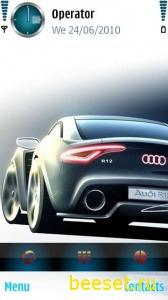 Тема для телефона Audi R12
