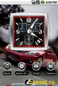 Тема для телефона Lexus
