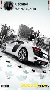 Тема для телефона Audi R8