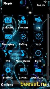 Тема для телефона Art + Icons