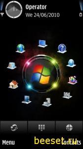 Тема для телефона Windows 8(анимация)
