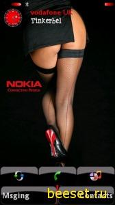 Тема для телефона Nokia Girl