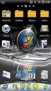 Тема для телефона Windows 7