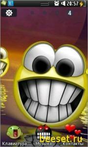 Тема для телефона Smile Theme