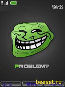 Тема для телефона Troll