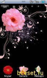 Тема для телефона Цветы
