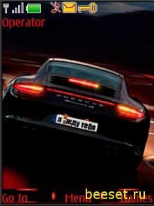 Тема для телефона Porsche