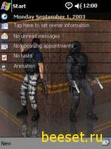 Тема для телефона Counter Strike