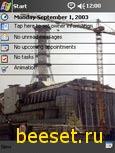 Тема для телефона chernobyl