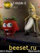 Тема для телефона Banana