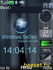 Тема для телефона Windows Se7en