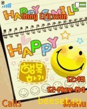 Тема для телефона Happy Smile