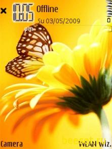 Тема для телефона Butterfly
