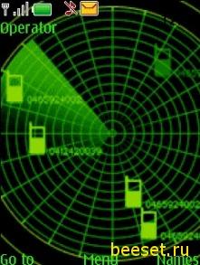 Тема для телефона Радар