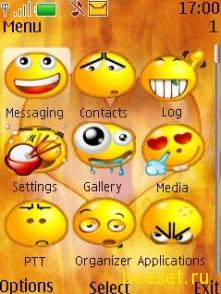 Тема для телефона Lite Smile