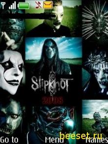 Тема для телефона Slipknot
