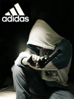 Картинка Неизвестный + Adidas