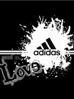 Картинка Love+adidas