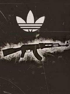 Картинка Ак-47 & Adidas