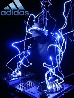 Картинка Dj + Adidas