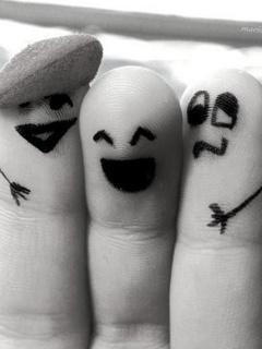 Картинка Три пальца