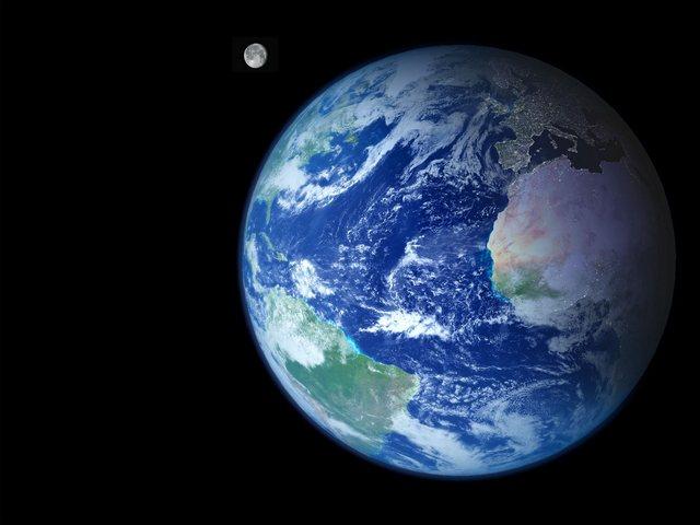 Картинка Земля из космоса