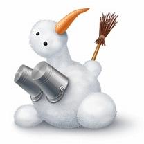 Картинка Снежный боб