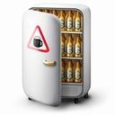Картинка Холодильник с пивом