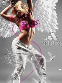 Картинка Девушка+Adidas