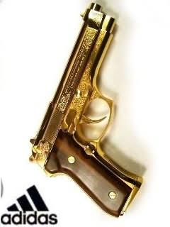 Пистолет + адидас