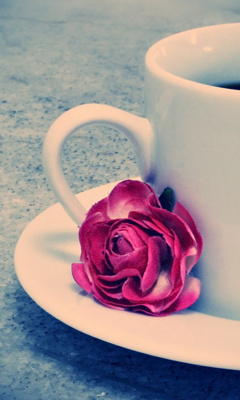 Картинка Rose And Coffee