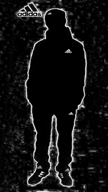 Парень в Adidas