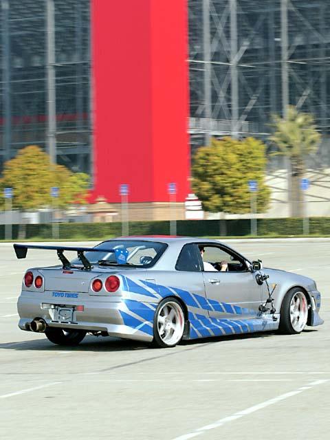 Картинка Nissan Skyline GTR R34