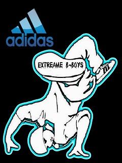 Картинка Break Dance + Adidas