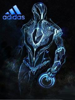 Картинка Трон + adidas