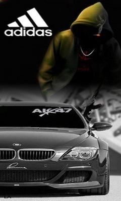 Картинка Бмв + Ak-47 Adidas