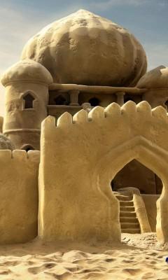 Картинка Замок из песка