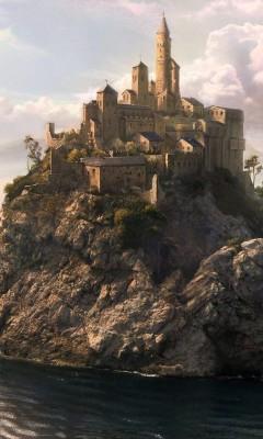 Картинка Замок над водой