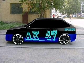 Картинка Авто+АК47