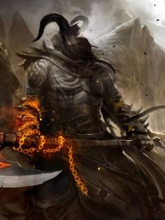 Картинка Воин с мечом